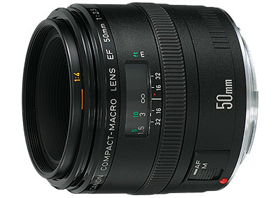Canon EF50mm F2.5 Compact Macro